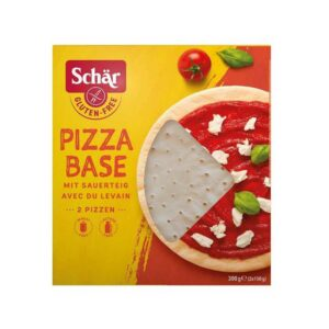 Pizza base bezlepkové